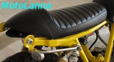 SEAT CAFE RACER <em>YAMAHA</em> SR500 SR400 XS650 XV CB CAFE RACER BLACK W WHI