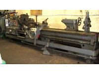 BINNS & BERRY MODEL TB707 GAP BED CENTRE LATHE 3200MM CENTRES