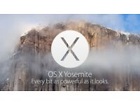 Apple OS X Yosemite 10.10.5 - Full Installation c/w Instructions