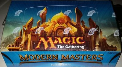 2013 Modern Masters Factory Sealed Booster Box Magic The Gathering Mtg English
