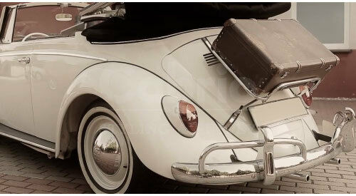 Volkswagen Beetle Luggage Rack New