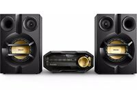 Philips FX10/12 Mini Hi-Fi System with Bluetooth - Black