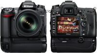 Nikon D7000 Battery Grip Holder Pack + 2 loaders charger