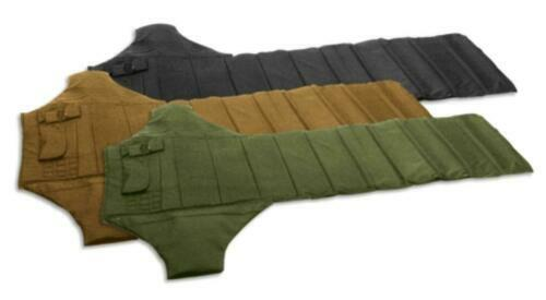 """Roll Up Padded Shooting Mat, 69"""" x 48"""" - Packed 8"""" x 20"""""""