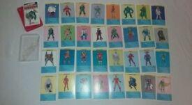 Top Trumps Marvel Super Villains 1988 Waddingtons Loki Doctor Ock Red Back (C)