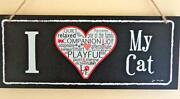 Wooden Word Signs