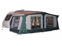Pyramid Tuscany caravan awning with aluminum frame size 925cm