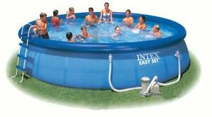 Intex pool ebay for Stahlwand pool 457x122