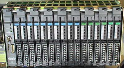 Allen-bradley Ab Mini Plc-215 16 Io Modules 128points