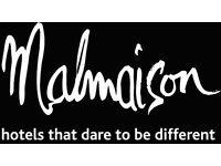 Sales Manager - Luxury Brighton Malmaison - plus great benefits