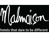 Restaurant Supervisor - Malmaison Glasgow The Honours including service charge