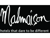 Receptionist - Malmaison Glasgow Hotel plus great benefits