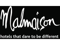 Room Attendant - Malmaison Newcastle Hotel plus great benefits
