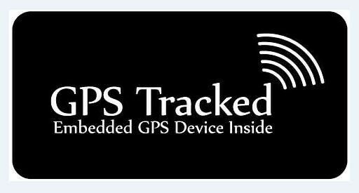 GPS Tracking Sticker for Equipment - Anti Theft, Tracking- 5 Pack