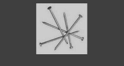 3 lbs Ring Shank Galvanized Siding Nails, 1-3/4