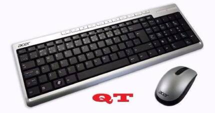Acer Wireless Desktop Multimedia Keyboard and Mouse with Battery Cabramatta Fairfield Area Preview