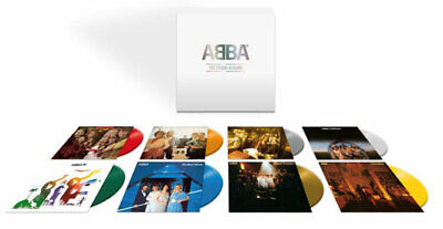 ABBA THE STUDIO ALBUMS COLOURED VINYL BOX SET New Pre order AVAILABLE 3rd July