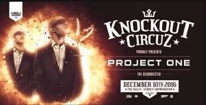 X4 Knockout Circuz Tickets For Sale **HardCopy** **Unactivated** Sydney City Inner Sydney Preview