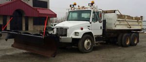 Freightliner Dump Truck with Snow Plow Prince George British Columbia image 2