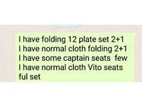 Vito Minibus seats