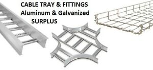 CABLE TRAY- Variety of sizes and fittings