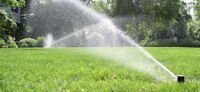 Lawn sprinkler irrigation system