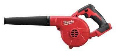 - MILWAUKEE 0884-20 M18™ Handheld Blower, 100 cfm, 160 mph
