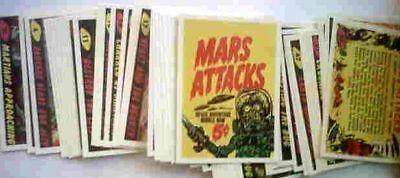 MARS ATTACKS 1984 REPRINT CARD SET