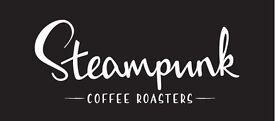 Full-Time Kitchen Assistant, Steampunk Coffee North Berwick