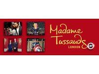 Madame Tussaud's tickets 22/03/2018