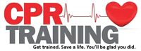 CPR/AED courses