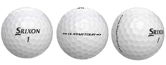 1 dozen q star tour golf balls