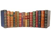 Books wanted..old books