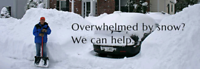 Affordable Snow Removal As Low as $30 per driveway.