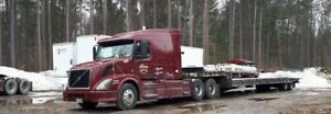 2012 Volvo with 50 Tilt & Load Float