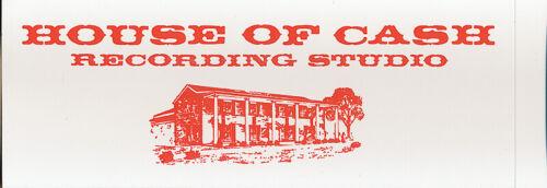 Johnny Cash Personal File RARE promo sticker 2006