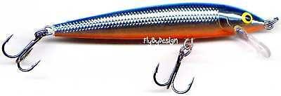 "Rapala Silver Blue Husky Jerk Suspending Rattling 3-1//8/"" Fishing Lure #HJ08 SB"