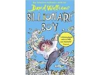 3 BRAND NEW BOOKS David Walliams Mr Stink, The Boy in the Dress and Billionaire Boy