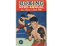 Boxing news annual 1961