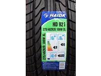New Haida tyre 275/40/20