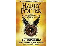 Harry Potter and The Cursed Child -part 2 - Wed 8 Nov 2017 - two tickets, grand circle