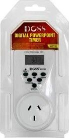 DOSS - 7 DAY - 24 HOUR MAINS DIGITAL TIMER - SAVE MONEY &  SAFEKEEP YOUR HOME