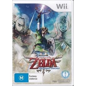The Legend Of Zelda Skyward Sword (Includes CD) Game Wii