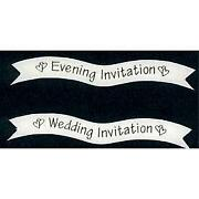 Wedding Invitation Toppers