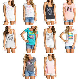 Women's Roxy Tops & T-Shirts