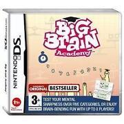 Big Brain Academy DS
