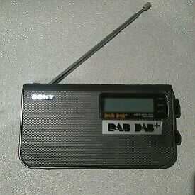 Sony digital DAB, DAB+ and FM radio. Used vgc £15