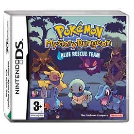Pokemon Mystery Dungeon Blue Rescue Team Game DS