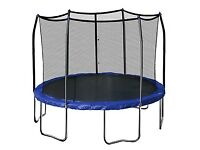 Trampoline with safety net (LIKE NEW)