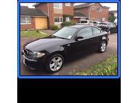 **BLACK BMW 1 SERIES 120d ES 2dr FOR SALE** Diesel, Good Cond, 12 mths MOT, Full Service History.